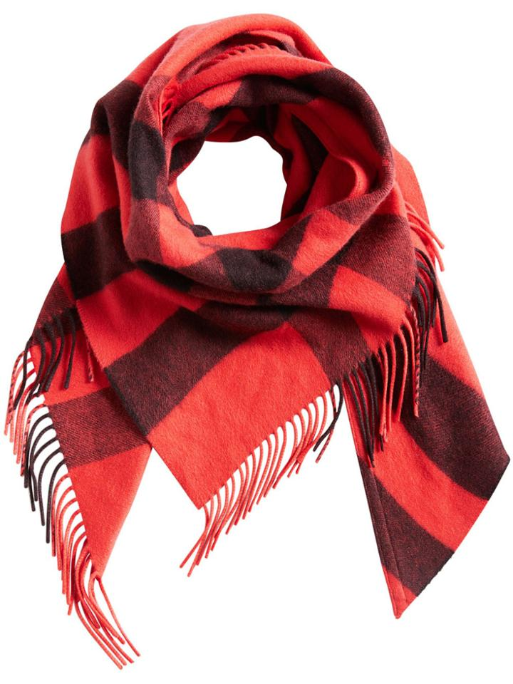 Burberry Burberry Bandana Check Scarf - Yellow & Orange
