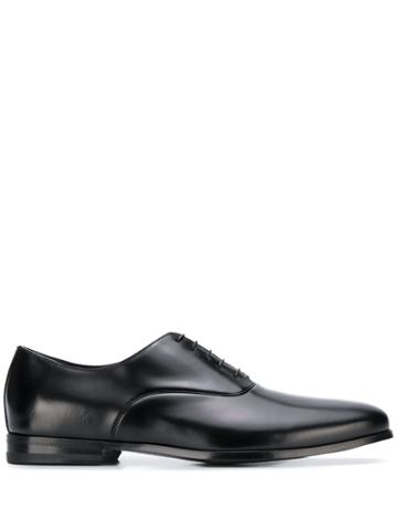 Canali Lace-up Oxford Shoes - Black