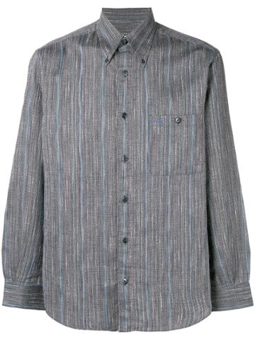 Missoni Vintage Striped Patterned Shirt - Grey