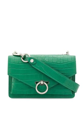 Rebecca Minkoff Jean Embossed Crossbody Bag - Green