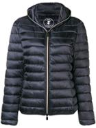 Save The Duck Hooded Quilted Jacket - Black