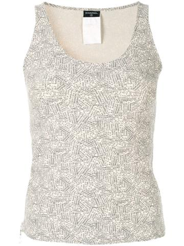 Chanel Vintage Sleeveless Tops - Neutrals