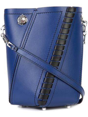Proenza Schouler - Small Hex Bucket Bag - Women - Leather - One Size, Blue, Leather