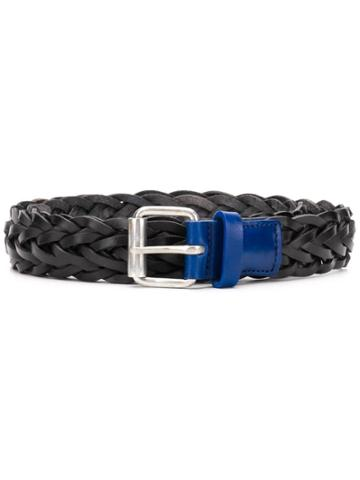 Ps By Paul Smith Braided Belt - Black