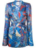 Rosie Assoulin Printed Blazer - Blue