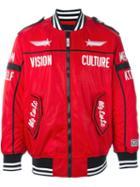 Ktz Zipped Biker Jacket