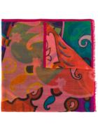 Etro Patterned Scarf - Pink