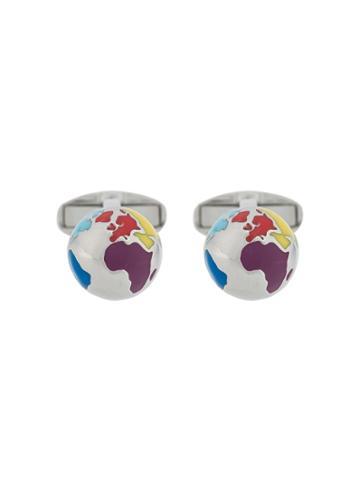 Paul Smith Globe Cufflinks - Silver