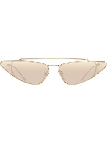 Prada Eyewear Prada Ultravox Eyewear Sunglasses - Metallic