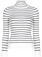 Joostricot Turtleneck Knit Top - White