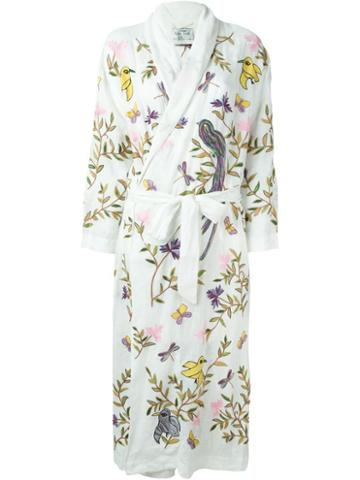 Forte Forte Embroidered Robe Coat