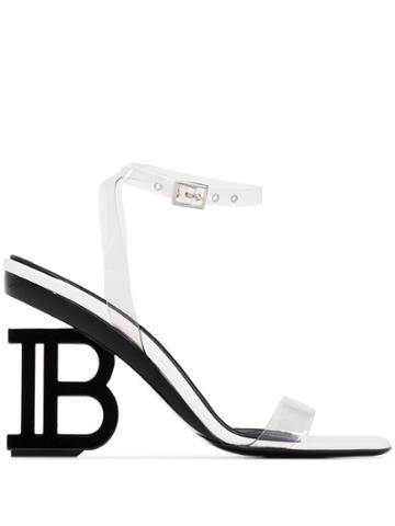 Balmain Balm Nine 95 Pvc B Sndl - White