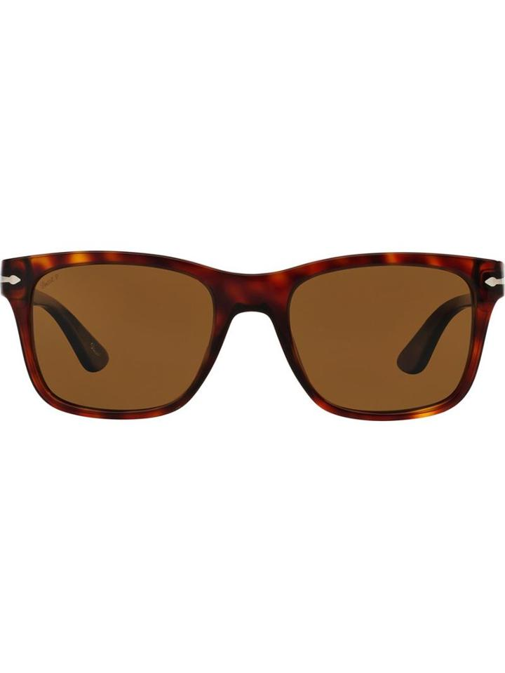 Persol 'po3135s' Sunglasses, Men's, Brown, Plastic