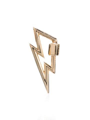 Marla Aaron Yellow Gold Boltlock 14k Necklace - Metallic