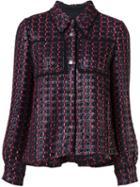 Sonia Rykiel Tweed Jacket Top