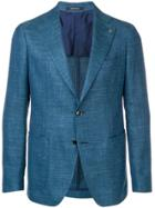 Tagliatore Blue Formal Blazer