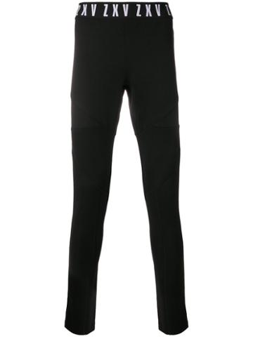 Versus - Zayn X Versus Leggings - Men - Cotton/polyamide/polyester - L, Black, Cotton/polyamide/polyester