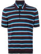 Prada Striped Polo Shirt - Multicolour