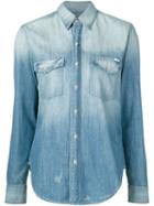 Mother Stone Washed Denim Shirt
