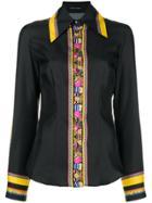 Etro Contrast Trim Shirt - Black