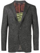 Etro Paisley Patterned Blazer - Grey