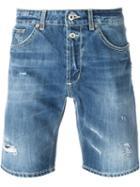Dondup Washed Denim Shorts