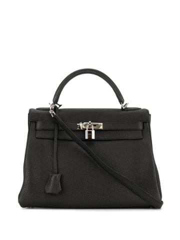 Hermès Pre-owned Kelly 32 2way Bag - Black