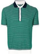 Paolo Pecora Check Patterned Polo Shirt - Green