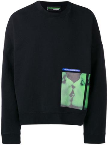 Dsquared2 Faces Print Sweatshirt - Black