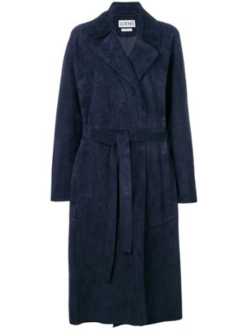 Loewe Robe Coat - Blue