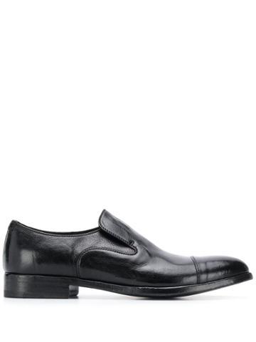 Alberto Fasciani Queen Slip-on Derby Shoes - Black