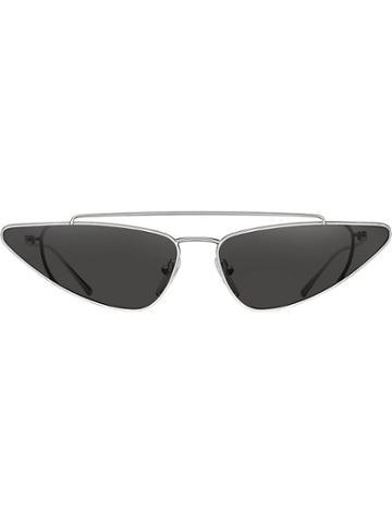 Prada Eyewear Prada Ultravox Eyewear - Metallic