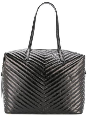 Rebecca Minkoff V Quilt Shoulder Bag - Black