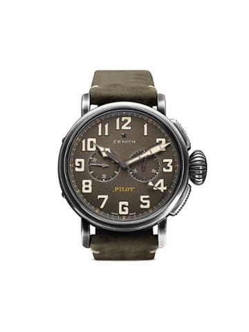 Zenith Pilot Type 20 Chronograph Ton-up 45mm - C773 Slate Grey B Green