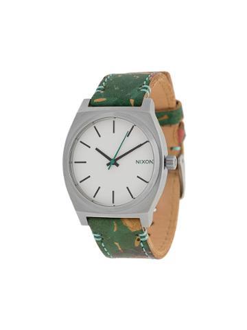 Nixon Time Teller Watch - Green