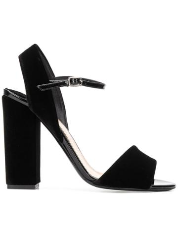 The Seller Classic High Sandals - Black