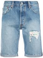 Levi's 501 Cut Off Shorts - Blue