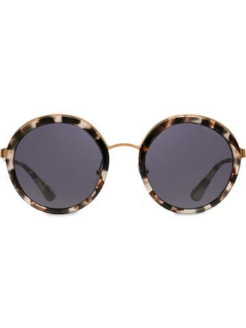 Prada Eyewear Prada Cinéma Eyewear Sunglasses - White