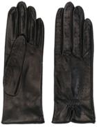 Manokhi Perforated Gloves - Black