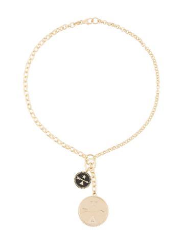 Foundrae Dream Annex Pair Necklace, Women's, Metallic