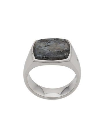 Tom Wood Cushion Ring - Silver