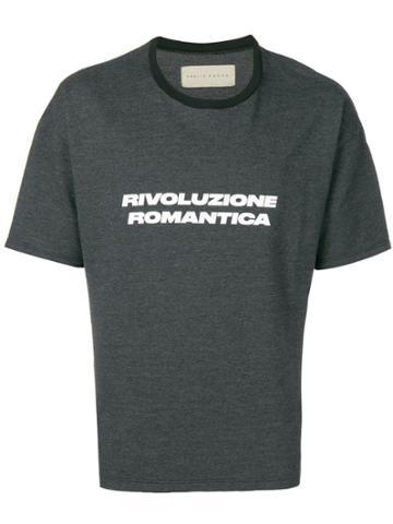 Paura Rivoluzione Romantica T-shirt - Grey