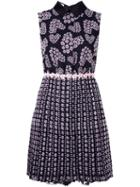 Giamba Floral Print Sleeveless Dress