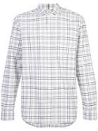 Baldwin Plaid Shirt - White