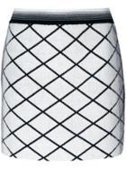 Missoni Diamond Patterned Mini Skirt - White