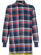 Geym Long Plaid Shirt - Multicolour