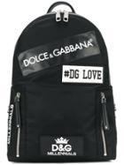 Dolce & Gabbana Patches Backpack - Black