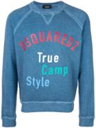 Dsquared2 Printed Sweatshirt - Blue