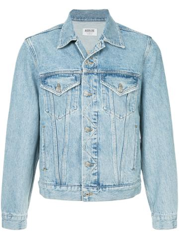 Agolde Preston Denim Jacket - Blue