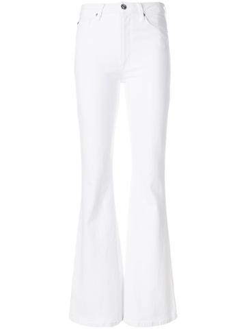 Hudson Flared Hudson Jeans - White
